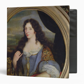 Portrait of an Unknown Learned Woman in Front 3 Ring Binders