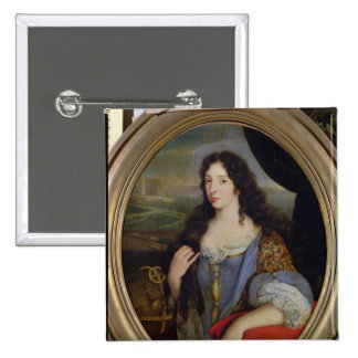Portrait of an Unknown Learned Woman in Front Button