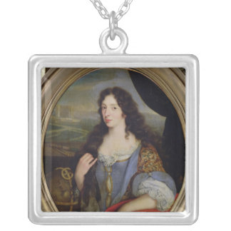 Portrait of an Unknown Learned Woman in Front Necklaces