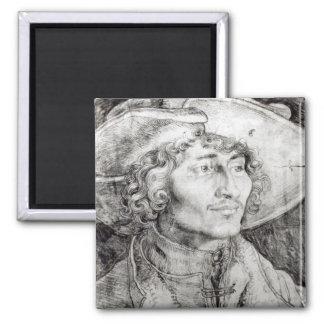 Portrait of an unknown man, 1521 magnet