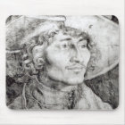 Portrait of an unknown man, 1521 mouse pad