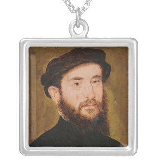 Portrait of an Unknown Man 2 Necklaces