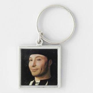 Portrait of an Unknown Man Keychain