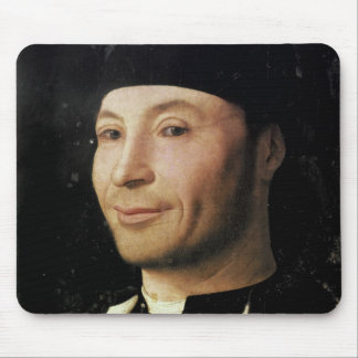Portrait of an Unknown Man Mouse Pad