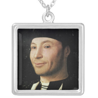 Portrait of an Unknown Man Custom Jewelry