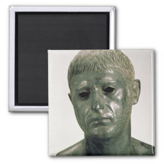 Portrait of an unknown Roman warrior, AD 30s Magnet