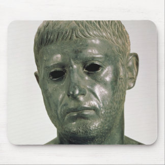 Portrait of an unknown Roman warrior, AD 30s Mouse Pad