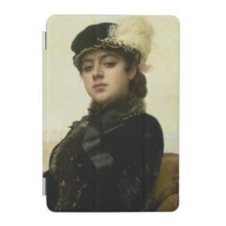 Portrait of an Unknown Woman, 1883 iPad Mini Cover