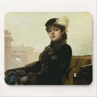 Portrait of an Unknown Woman, 1883 Mouse Pad