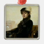 Portrait of an Unknown Woman, 1883 Ornaments
