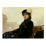 Portrait of an Unknown Woman, 1883 Postcards