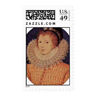 Portrait Of An Unknown Woman By Nicholas Hilliard Postage Stamps