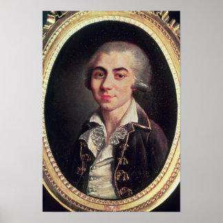 Portrait of Andre Chenier Poster