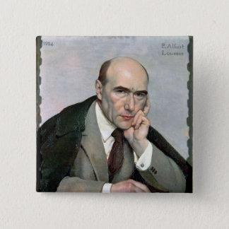 Portrait of Andre Gide  1924 Pinback Button