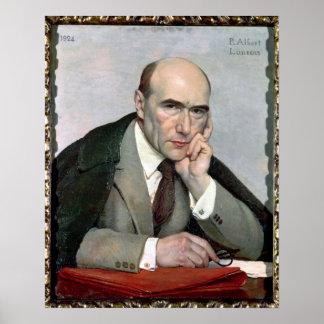 Portrait of Andre Gide  1924 Poster