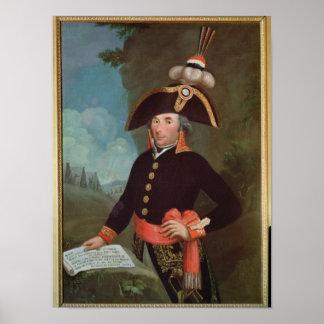 Portrait of Andre Massena Poster
