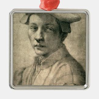 Portrait of Andrea Quaratesi, c.1532 Metal Ornament