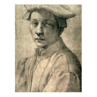 Portrait of Andrea Quaratesi, c.1532 Postcard