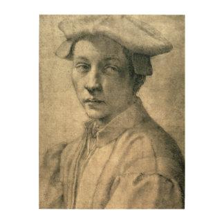 Portrait of Andrea Quaratesi, c.1532 Wood Wall Art