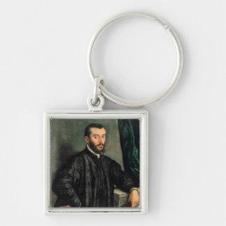 Portrait of Andrea Vesalius Keychains