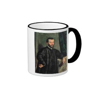 Portrait of Andrea Vesalius Ringer Mug