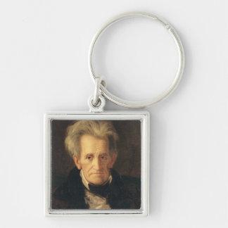 Portrait of Andrew Jackson Keychains