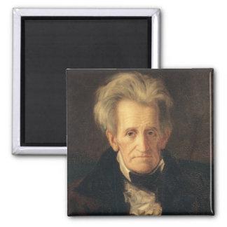 Portrait of Andrew Jackson Magnet