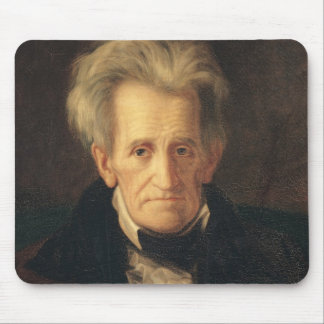 Portrait of Andrew Jackson Mousepad