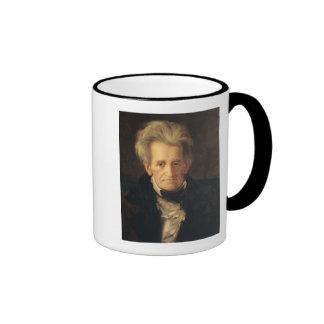 Portrait of Andrew Jackson Mugs
