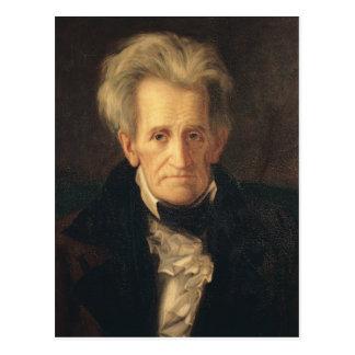 Portrait of Andrew Jackson Postcard
