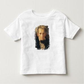 Portrait of Andrew Jackson Toddler T-shirt