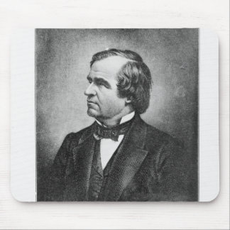 Portrait of Andrew Johnson Mouse Pad