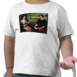 Portrait of Angeles and Fuensanta Shirts