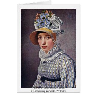 Portrait Of Anna Maria Magnani Card
