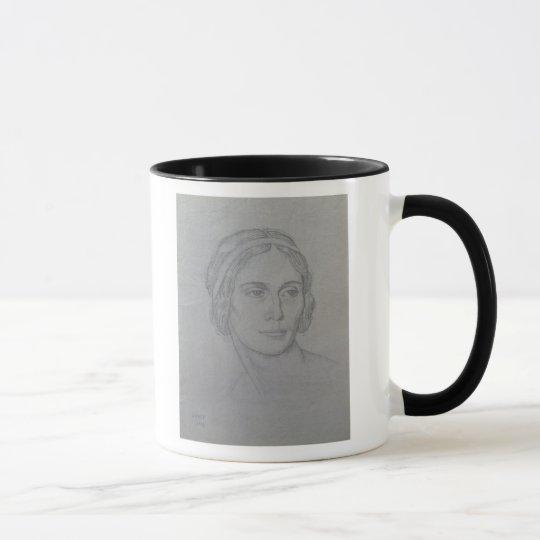 Portrait of Anna Pavlova , 1908 Mug