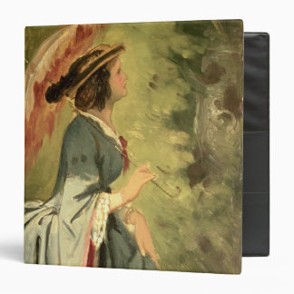 Portrait of Anna the artist s daughter 1860 3 Ring Binders
