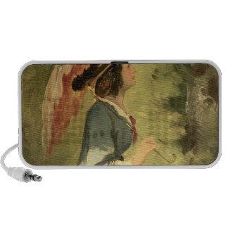 Portrait of Anna, the artist's daughter, 1860 Portable Speaker