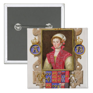 Portrait of Anne Boleyn (1507-36) 2nd Queen of Hen Button