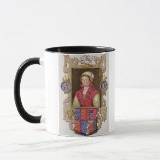 Portrait of Anne Boleyn (1507-36) 2nd Queen of Hen Mug