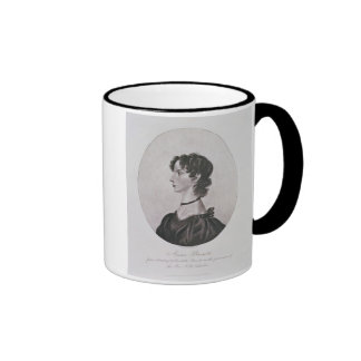 Portrait of Anne Bronte (1820-49) from a drawing i Coffee Mug