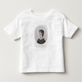 Portrait of Anne Bronte (1820-49) from a drawing i Tee Shirt