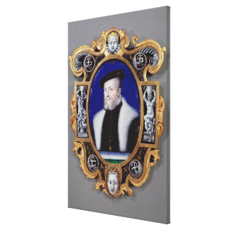 Portrait of Anne, First Duke of Montmorency Canvas Print