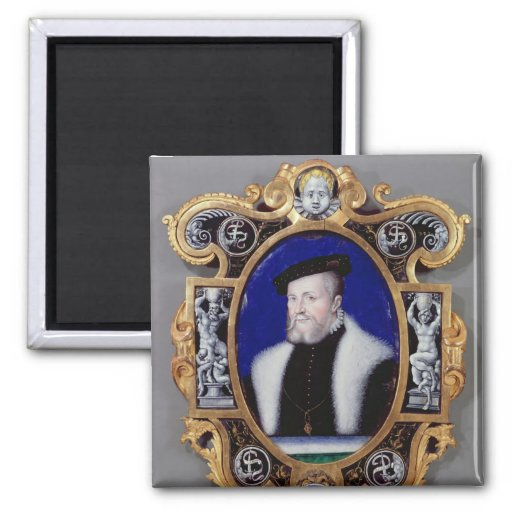 Portrait of Anne, First Duke of Montmorency Magnets