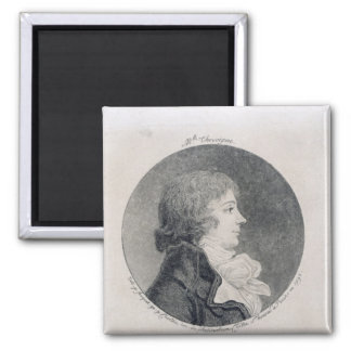 Portrait of Anne-Josephe Trewagne Magnet
