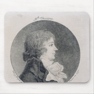 Portrait of Anne-Josephe Trewagne Mouse Pad