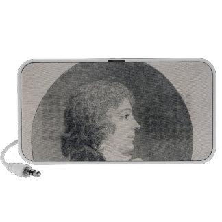 Portrait of Anne-Josephe Trewagne Portable Speaker