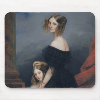 Portrait of Anne-Louise Alix de Montmorency Mouse Pad