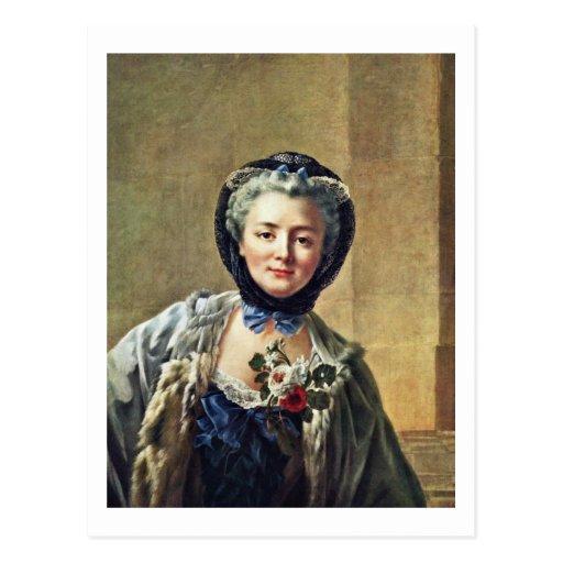 Portrait Of Anne-Marie Françoise Doré Postcards