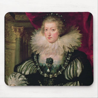 Portrait of Anne of Austria  Infanta of Spain Mouse Pad
