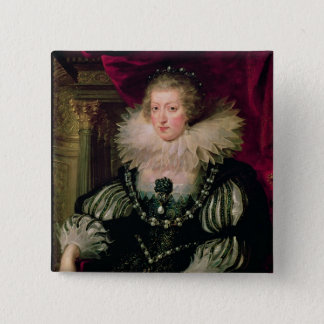 Portrait of Anne of Austria  Infanta of Spain Pinback Button
